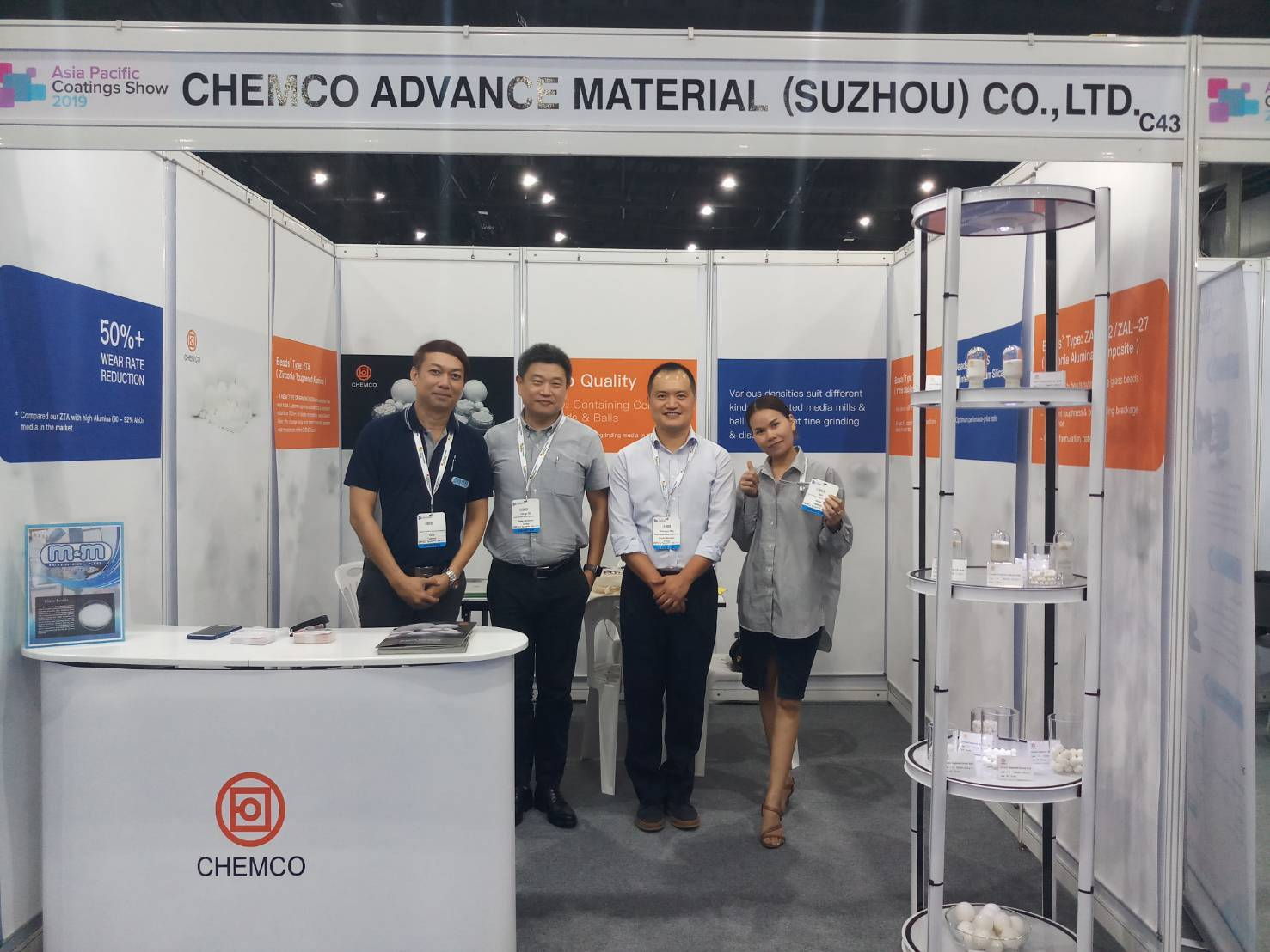 งาน Asia Pacific Coating 2019 @Bitec